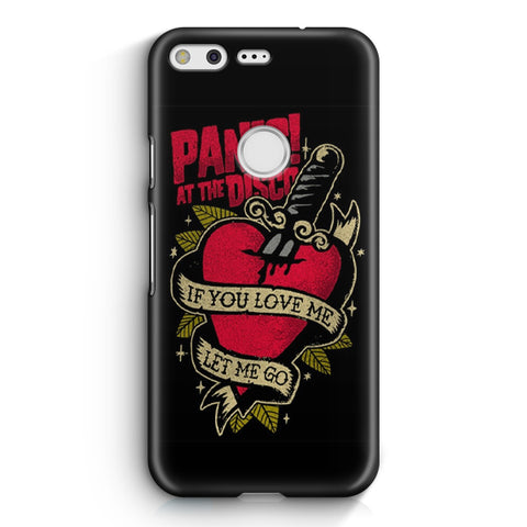 Panic! At The Disco Tattoo Heart Google Pixel XL Case