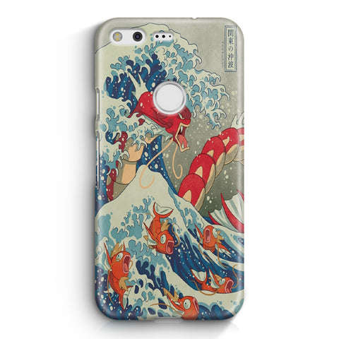 The Great Wave Of Kanto Pokemon Google Pixel XL Case