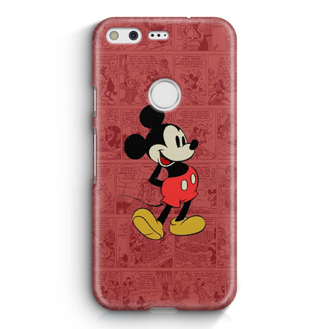 Mickey Mouse Black Google Pixel XL Case