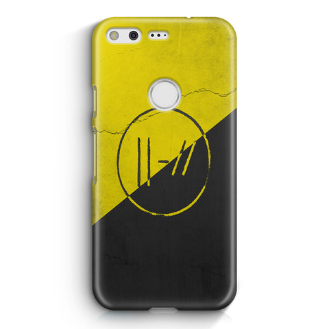 Twenty One Pilots Yellow Double Lines Google Pixel XL Case