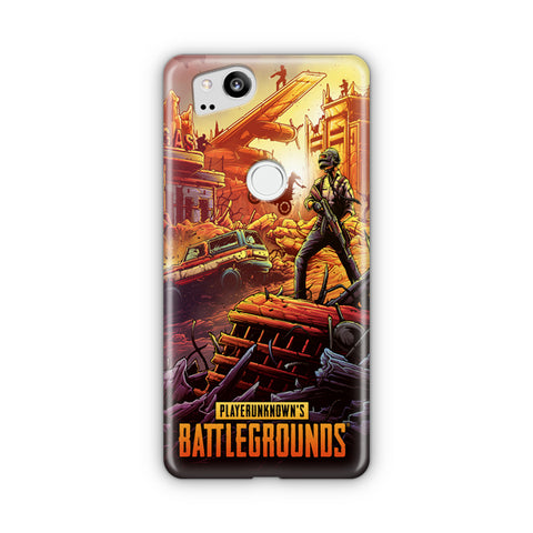 Player Unknown's Battlegrounds Google Pixel Case