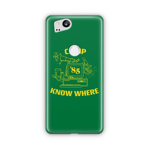Camp Know Where Google Pixel 2 Case