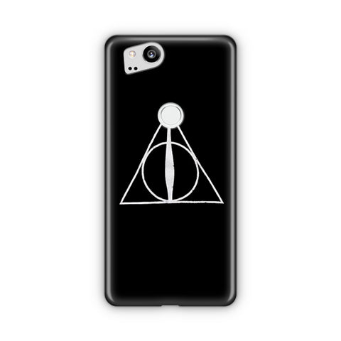 Harry Potter Deathly Haloows Symbol Google Pixel Case