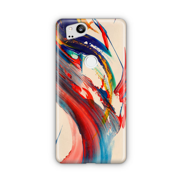 Abstract Brush Stroke Google Pixel 2 Case