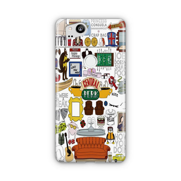 Friends TV Show Google Pixel Case