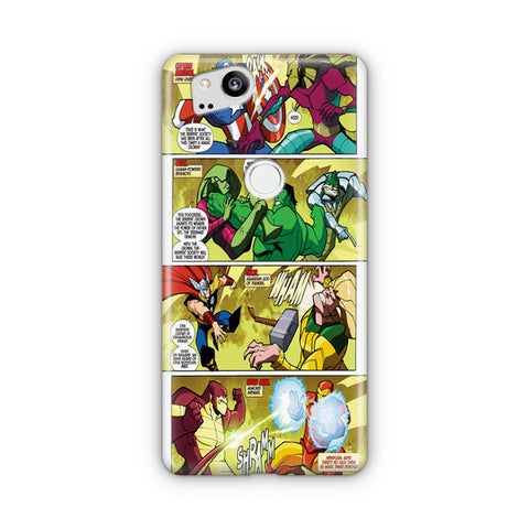 Marvel Comics Digest Google Pixel Case