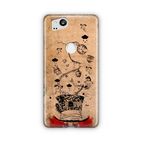 Disney Mad Hatter Art Google Pixel 3 Case