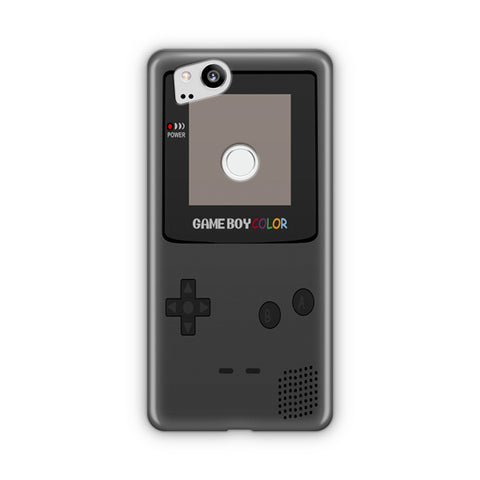 Game Boy Gray Google Pixel 3 Case
