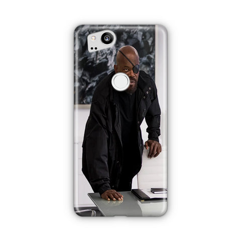Nick Fury Google Pixel 2 Case
