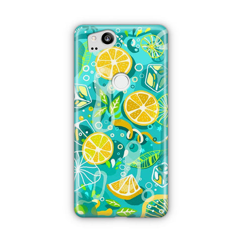 Lemonade Ice Summer Vibe Google Pixel 2 Case