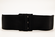 "Load image into Gallery viewer, Black Gold Asian Print ""CINCHEX BELT"""