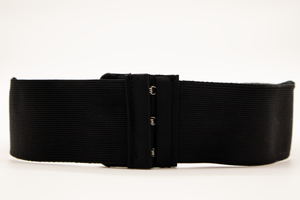 "Black Gold Asian Print ""CINCHEX BELT"""