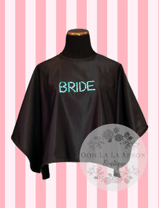 """BRIDE"" Makeup/Beauty Apron"