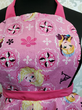 Load image into Gallery viewer, Pink Elsa Vintage Style Kids Apron