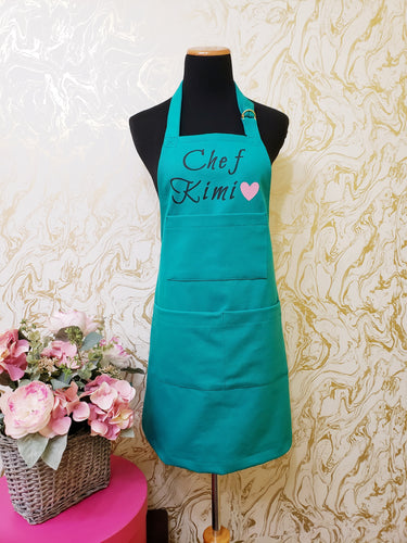 Chef's Bib Apron - Various Colours Available