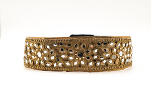 Gold Mirrored CINCHEX Belt