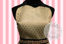 Load image into Gallery viewer, Bollywood Glam -Mint & Green Couture Hostess Apron