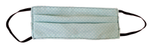 Load image into Gallery viewer, Tiffany Blue & White Polka Dot Nursing Apron with Matching 3 Layers Filtered Face Mask & Keepsake Gift Box - Various Colors Available