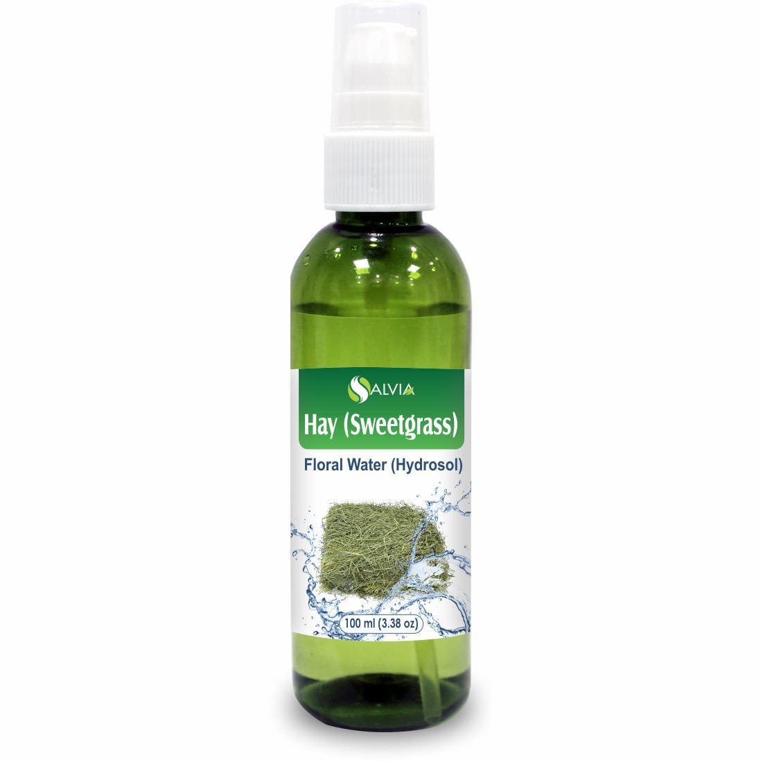 Salvia Floral Water 100 ML Hay (Sweetgrass) Floral Water (Hydrosol) 100% Pure and Natural