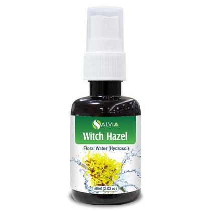 Salvia Floral Water 60 ML Witch Hazel Floral Water (Hydrosol) 100% Pure And Natural