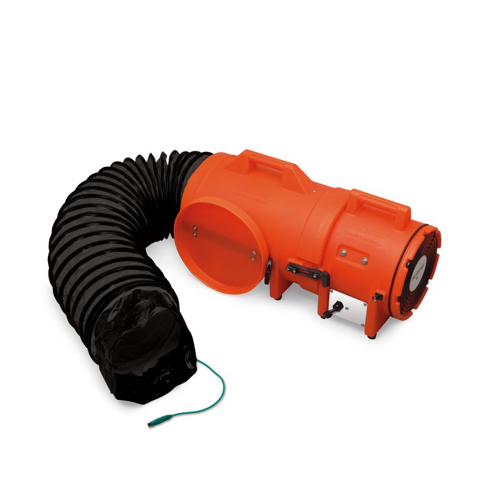 Allegro 8″ Axial Explosion-Proof (EX) Plastic Blower w/ Compact Canister & Ducting (each)