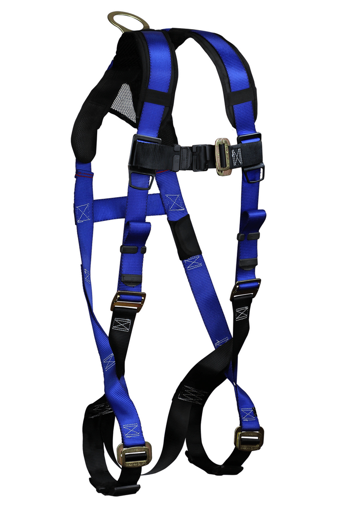 FallTech 7015B Contractor+ 1D Standard Non-belted Harness (each)