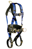 FallTech 7073B Contractor+ 3D Construction Belted Full Body Harness (each)