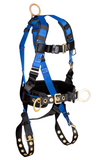 FallTech 7073 Contractor 3D Construction Belted Full Body Harness (each)