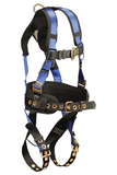 FallTech 7074B Contractor+ 1D Construction Belted Full Body Harness (each)