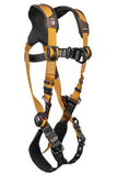 FallTech 7080BFD Advanced ComforTech® Gel 2D Climbing Non-belted Full Body Harness, Tongue Buckle Leg Adjustment (each)