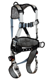 FallTech 7088BR FlowTech LTE® 3D Construction Belted Full Body Harness, Tongue Buckle Leg Adjustment, Suspension Trauma Relief System (each)