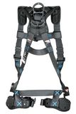 FallTech 8124BQC FT-One™ 1D Standard Non-Belted Full Body Harness, Quick Connect Adjustments (each)