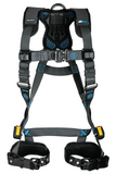 FallTech 8128B FT-One™ 1D Standard Non-Belted Full Body Harness, Tongue Buckle Leg Adjustments (each)