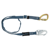 FallTech 82095K 4' to 6' Adjustable Length Restraint Lanyard with Steel 5k Carabiner (each)