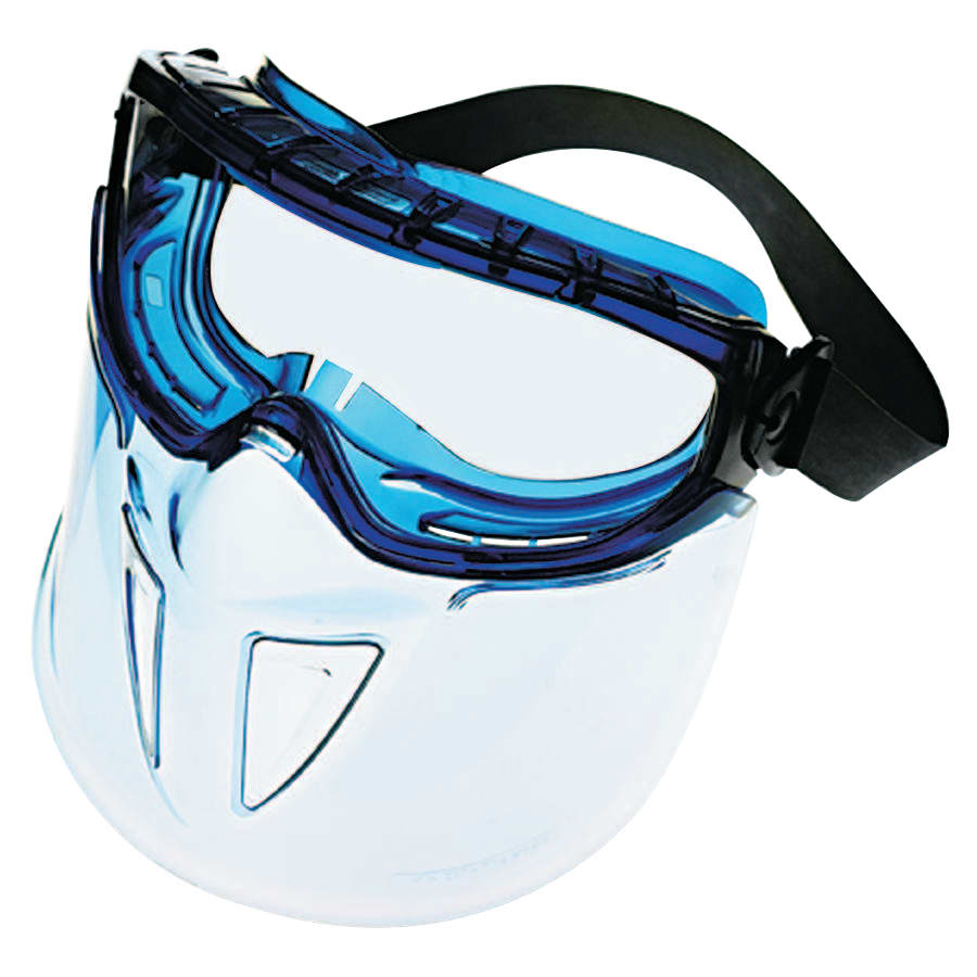 Kimberly Clark V90 SHIELD Goggles, Clear/Blue (each)
