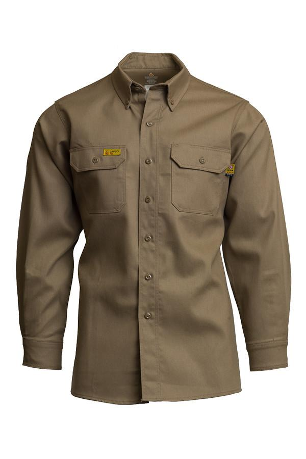Lapco 6oz. FR Uniform Shirt, 88/12, 8.8 cal/cm² (each)