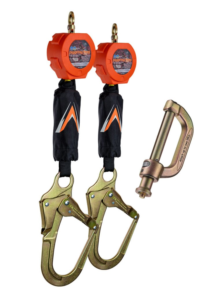 Malta Dynamics Dual 6′ Pygmy Hog SRLs with Connector Kit, Rebar Hook (each)