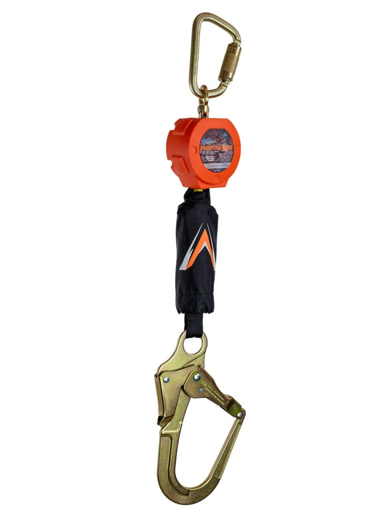 Malta Dynamics Pygmy Hog 6′ Self-Retracting Lifeline with Rebar Hook (each)