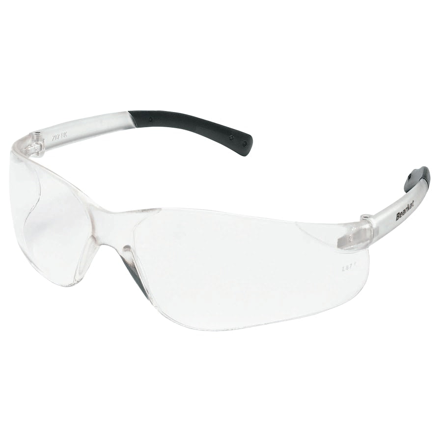MCR Safety Crews BearKat Clear Lens, Duramass Scratch-Resistant (dozen)
