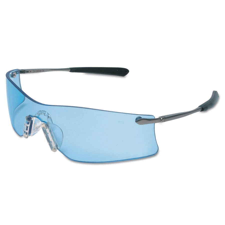 MCR Safety Rubicon Protective Eyewear, Light Blue Lens, Anti-Fog, Duramass Hard Coat (each)