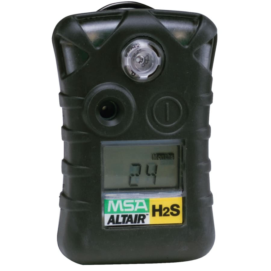 MSA Altair Single-Gas Detectors, Hydrogen Sulfide H2S (each)