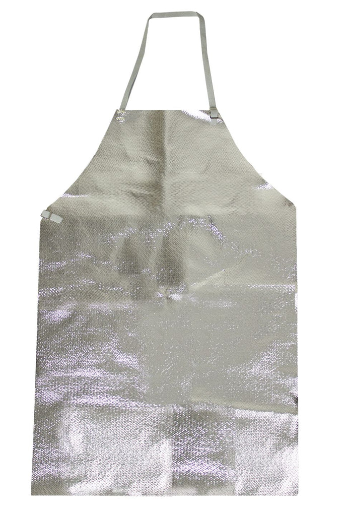 National Safety Apparel Carbon Armour Silvers NL Aluminized Apron (each)
