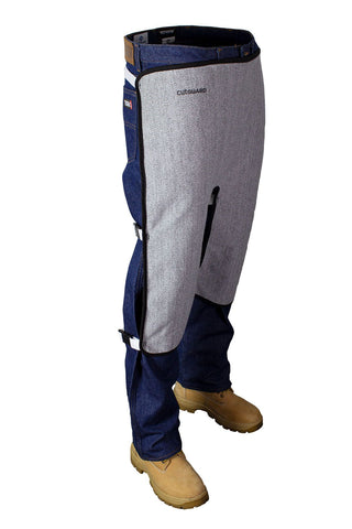 National Safety Apparel CutGUARD K5 Split Leg Apron (each)
