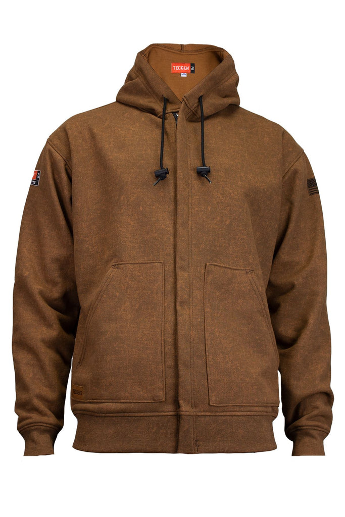 National Safety Apparel Tecgen FR Tacoma Heavyweight Zip Front Hoodie, 25 cal/cm² (each)