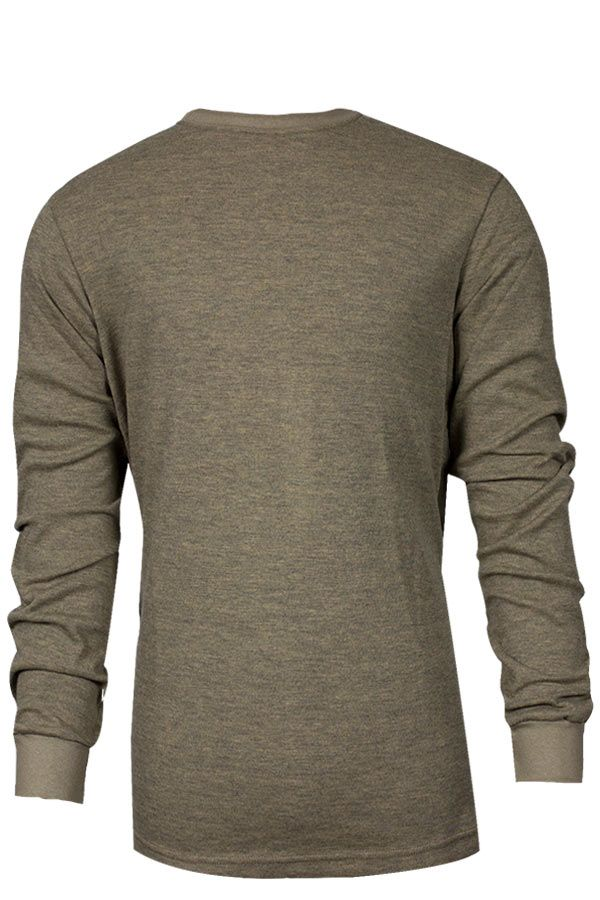 National Safety Apparel Tecgen FR Long Sleeve T-Shirt, 13 cal/cm² (each)