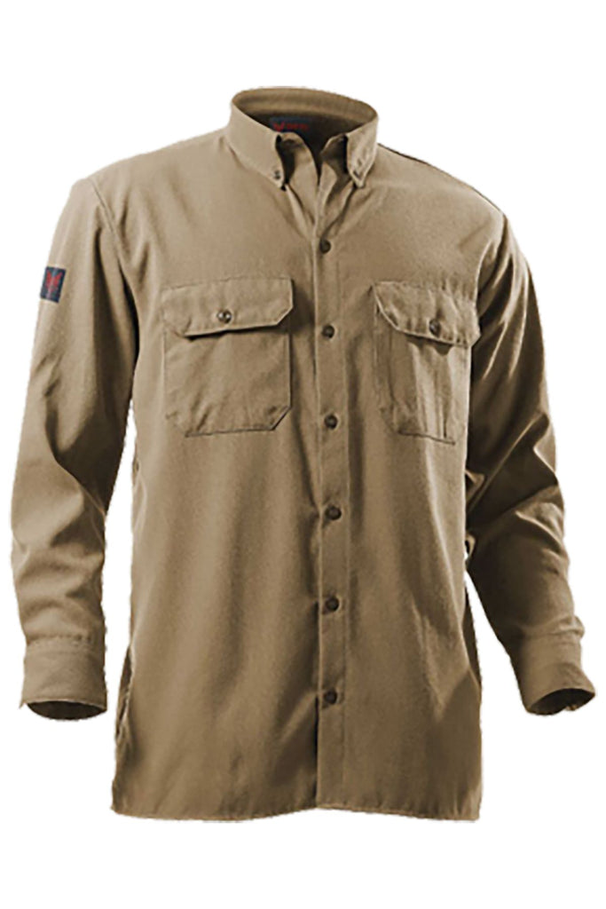 National Safety Apparel Drifire FR Utility Shirt, 12 cal/cm² (each)
