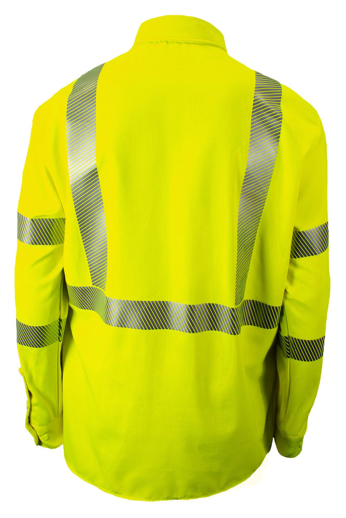National Safety Apparel Drifire FR Hi-Vis Utility Shirt, Type R Class 3, 12 cal/cm² (each)