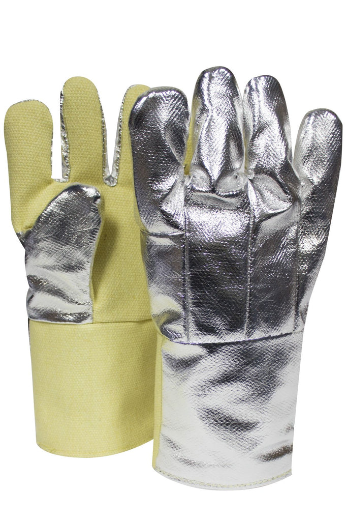 "National Safety Apparel Aluminized Thermobest Glove, Reversed Wool Liner, 14"" (pair)"