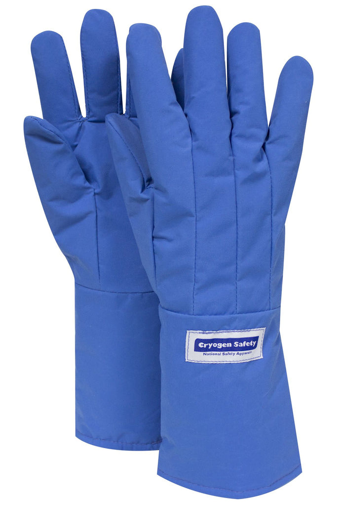 "National Safety Apparel Water Resistant Mid-Arm Length Cryogenic Gloves, 15"" (pair)"