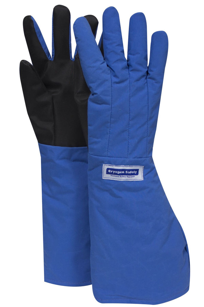 "National Safety Apparel SaferGrip Elbow Length Cryogenic Gloves, 18"" (pair)"
